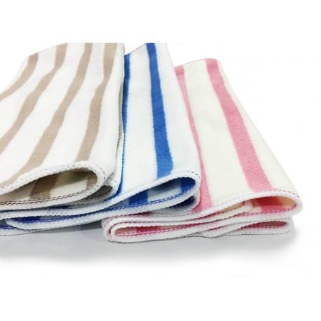 Striped Microfiber Kitchen Cloths - Set of 3